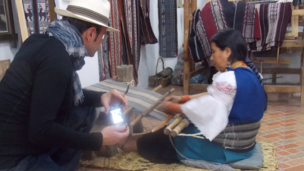 Textíles from Otavalo
